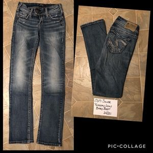 Silver Tuesday Low Baby Boot Jeans